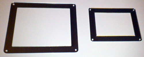 XY MIDIpad and XY MIDIpad mini frames