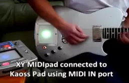 XY MIDIpad demonstration