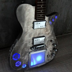 XY MIDIpad guitar by Hysteria Guitars
